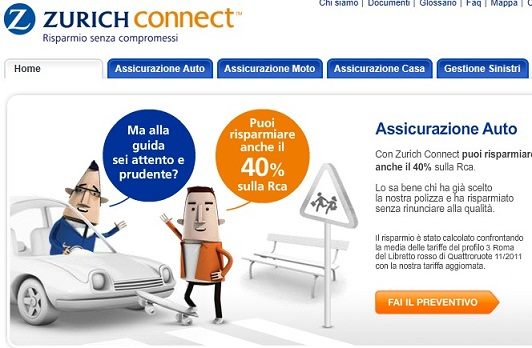 zurich connect online